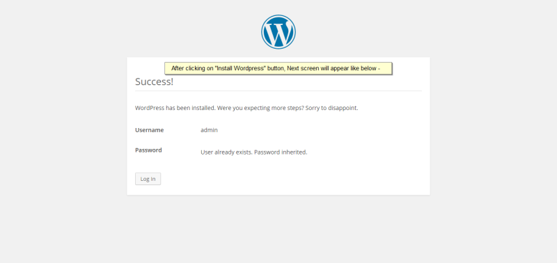 #023 - 'WordPress › Installation'
